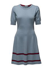 JOLITA STP DRESS - ASHLEY BLUE / MULTI