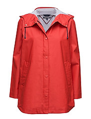 BONNIE RAINWEAR PARKA - RED