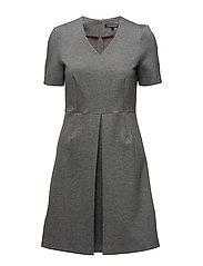 IMOGEN DRESS SS - GREY