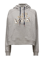 Cotton Sweatshirt Gigi Hadid - GREY