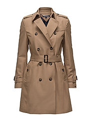 CAROLINA DB TRENCH - KHAKI