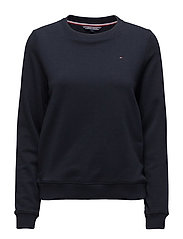 FLAG SWEATSHIRT, 118 - MIDNIGHT