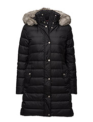 TYRA DOWN COAT - BLACK