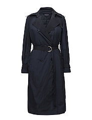INGRID TECH TRENCH, - PEACOAT