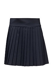 LEAN PLEATED SKIRT - BLUE