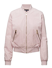 IMMY SHORT BOMBER - LIGHT LILAC