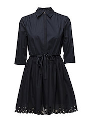 HAYETTE DRESS 1/2 SL - MIDNIGHT