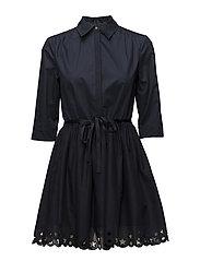 HAYETTE DRESS 1/2 SL - MIDNIGHT