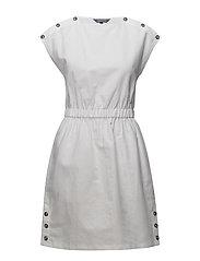 MAIA DRESS  - CLASSIC WHITE