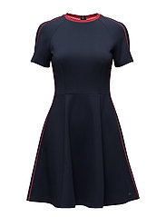 NEW IMOGEN DRESS SS - MIDNIGHT