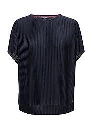 FIONA C-NK TOP SS - MIDNIGHT