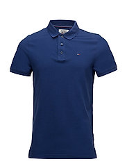 TJM BASIC POLO S/S 1 - BLUE DEPTHS