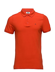 TJM BASIC POLO S/S 1 - SPICY ORANGE