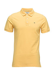TJM BASIC POLO S/S 1 - YELLOW