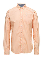 TJM BASIC SOLID SHIRT L/S 38 - ORANGE