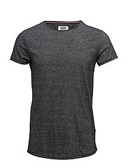 TJM BASIC CN KNIT S/ - TOMMY BLACK