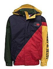 TJM 90s COLORBLOCK SAILING JKT M4 - RED