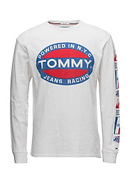 TJM POWER LOGO LONG, - CLASSIC WHITE