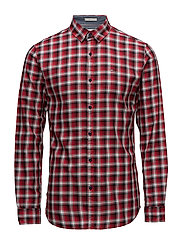 TJM ESSENTIAL WASHED - RACING RED