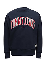 TJM COLLEGIATE SWEAT - NAVY BLAZER