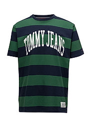 TJM COLLEGIATE STRIP - EDEN / BOLD STRIPE