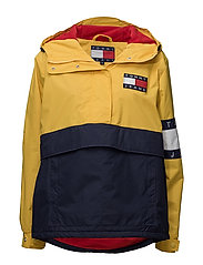 TJW 90s COLORBLOCK PULLOVER JKT W1 - YELLOW