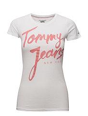 Tommy Jeans - Tjw Script Logo Tee,
