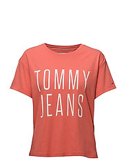 Tommy Jeans - Tjw Cropped Logo Tee