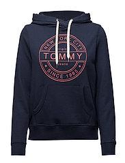 Tommy Jeans - Tjw Logo Hoodie, 000