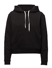 TJW LOOSE FIT LOGO H - TOMMY BLACK