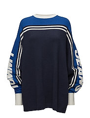 TJW OVERSIZED RACING - NAUTICAL BLUE / MULTI