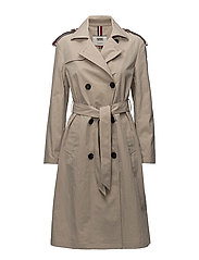 TJW TRENCH COAT, 005 - SIMPLY TAUPE