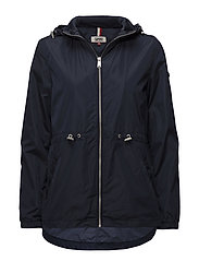 TJW ESSENTIAL JACKET - BLACK IRIS