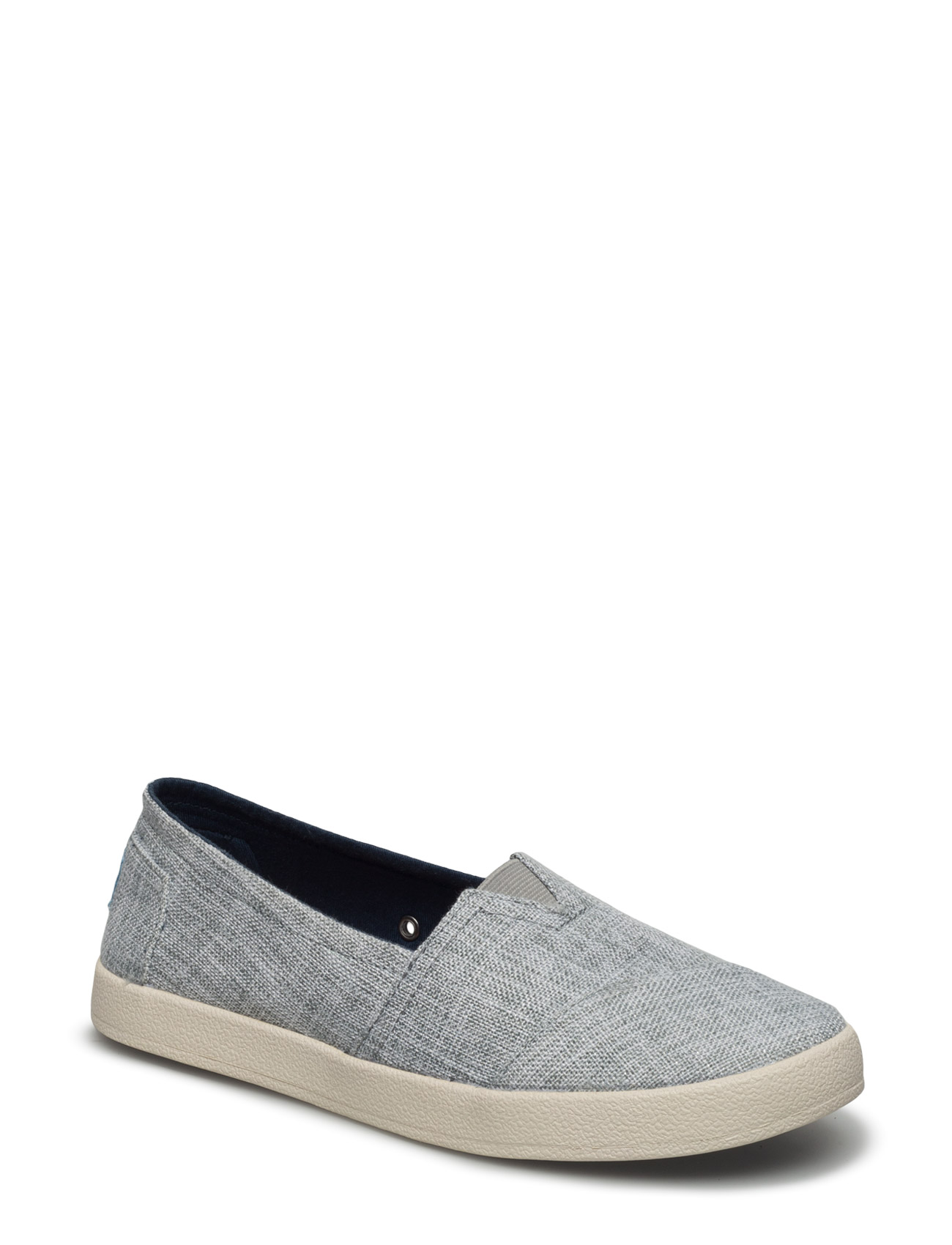 Drizzle Grey Lurex Woven Avalon TOMS Sneakers til Damer i
