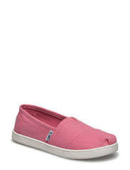 Bubblegum pink canvas youth - BUBBLEGUM PINK CANVAS