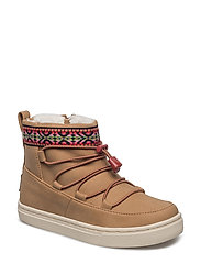 Toffee Synthetic Suede Alpine Seasonal New Youth - TOFFEE