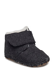 Black Herringbone Tn Cuna Lay - BLACK HERRINGBONE