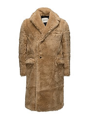 Steiff Fur Coat - BRANDY