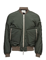 Bomber Jacket - GREEN OLIVE
