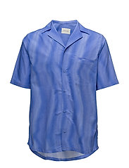 Bowling Shirt - BLUE STRIPE