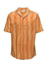 Bowling Shirt - ORANGE STRIPE
