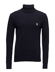 Regular fit turtleneck - DARK NAVY