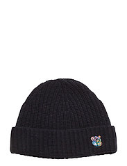 Beanie with embroidered logo - DARK NAVY