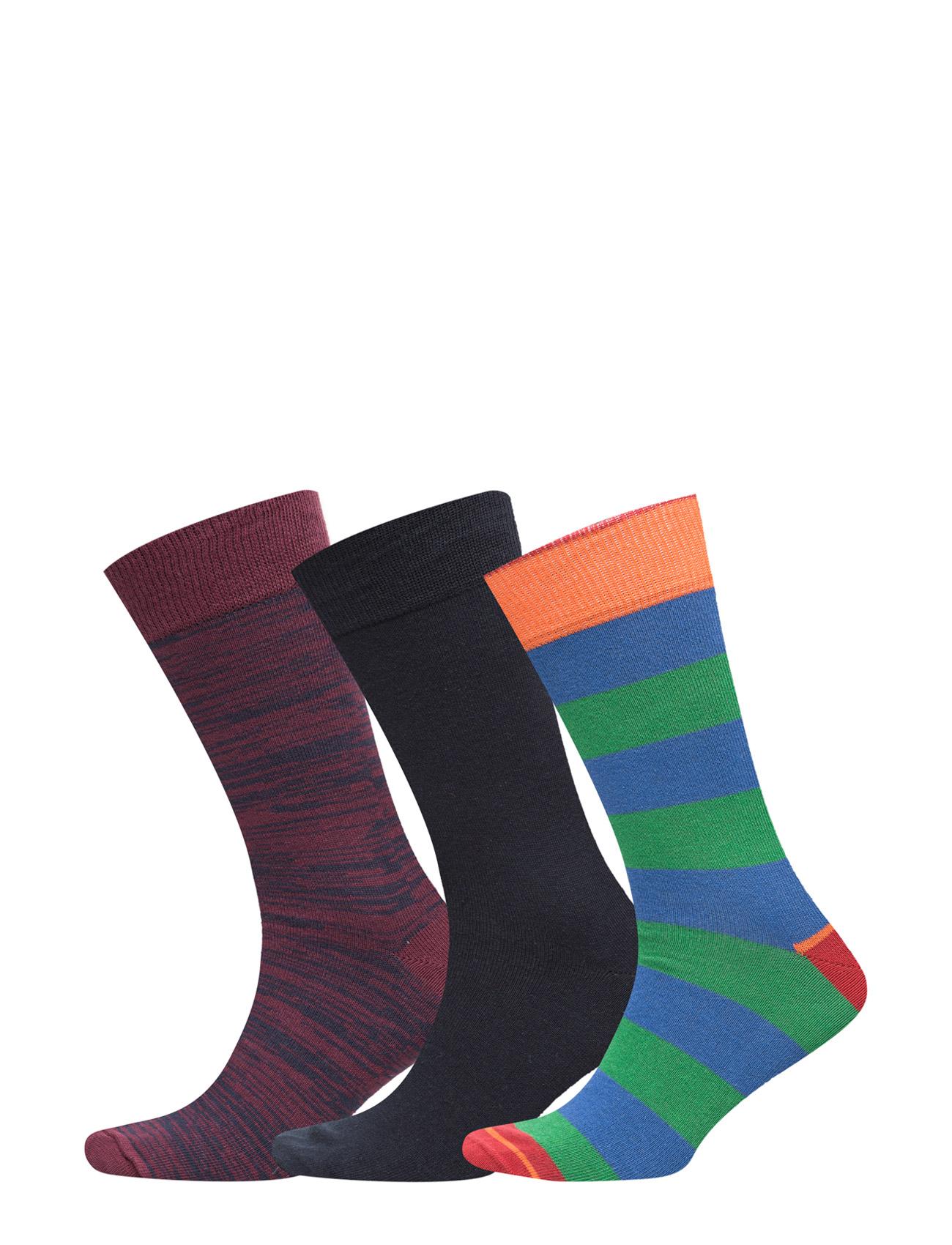Menå«S Socks 3-Pack TOPECO Sokker til Mænd i