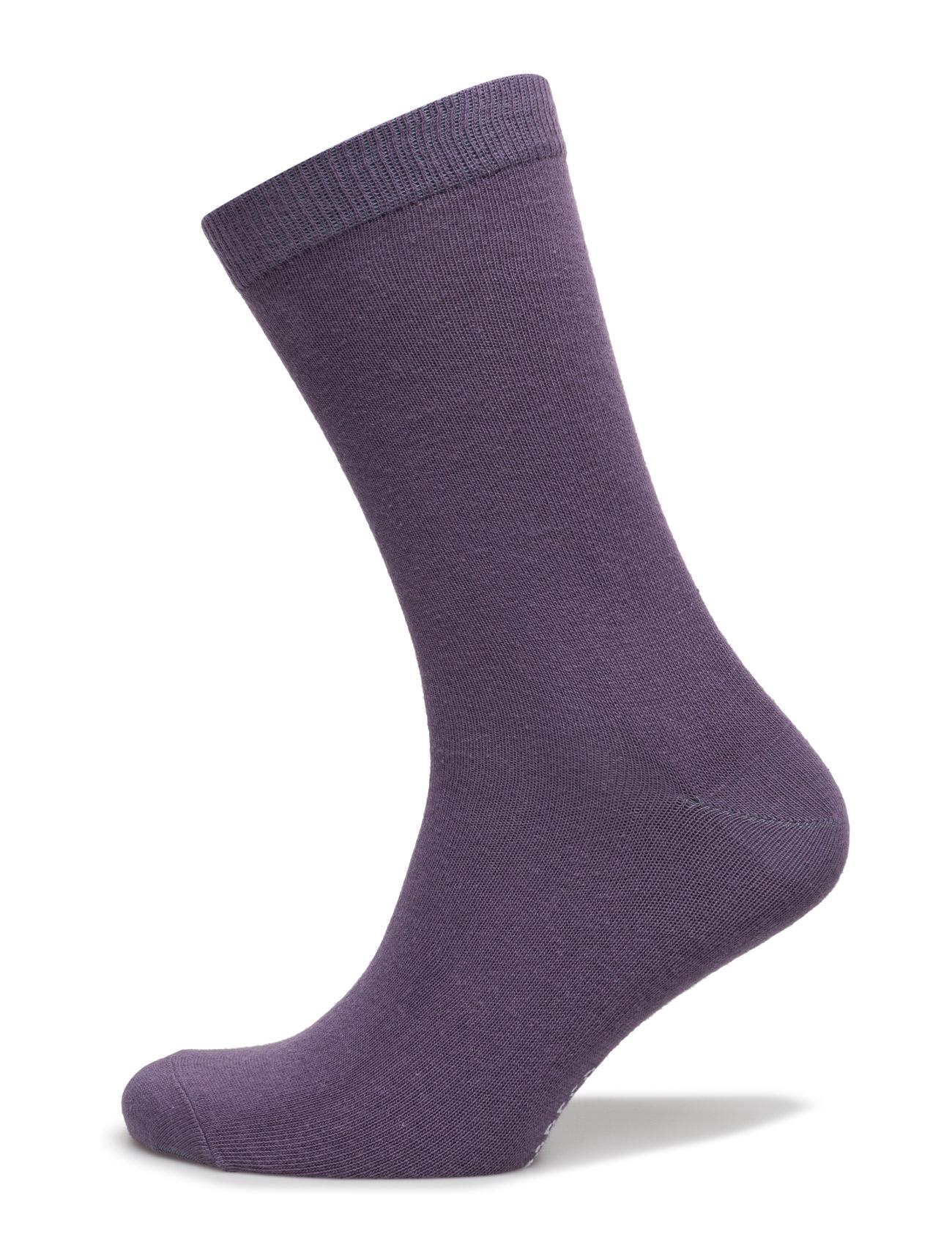Ladies Sock Plain, Antique Lilac TOPECO Strømpebukser til Damer i