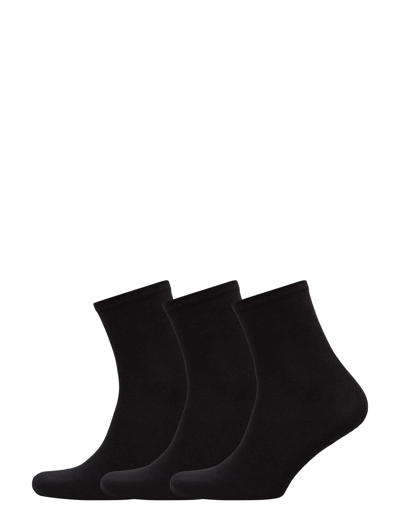 Ladies Sock 3-Pack TOPECO Strømpebukser til Kvinder i Sort