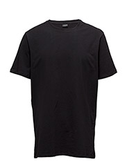 MENS T-SHIRT, BLACK - BLACK