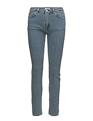 SLIM WAIST DENIM - SKY BLUE