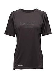 Les Deux Logo T-shirt - STONE GREY/LIGHT GREY