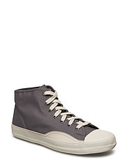 RACKET H MID CANVAS - CHARCOAL GRAY